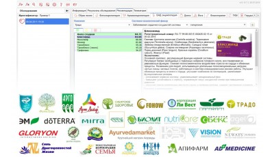 Полный список компаний модуля «БАД Энциклопедия»